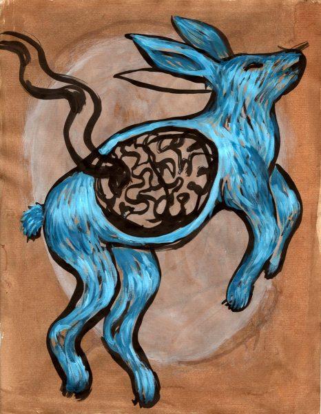 eva-davidova-rabbit-human-brain-blue