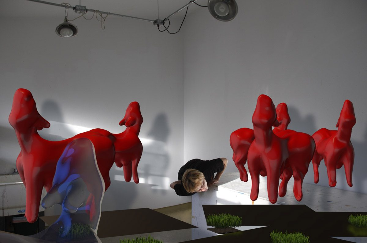 EvaDavidova_Narcissus_and animals_3